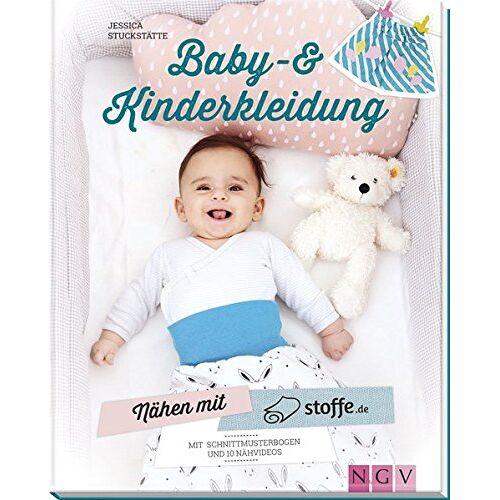 Jessica Stuckstätte - Nähen mit stoffe.de - Baby- & Kinderkleidung: Mit Schnittmusterbogen & 10 Nähvideos - Preis vom 21.10.2020 04:49:09 h