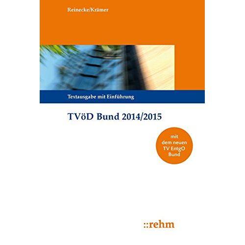 Volker Reinecke - TVöD Bund 2014/2015 - Preis vom 21.10.2020 04:49:09 h