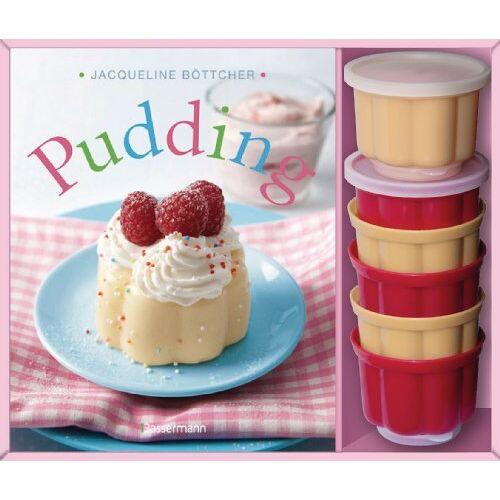 Jacqueline Böttcher - Pudding-Set: Buch und 6 passende Puddingförmchen - Preis vom 13.05.2021 04:51:36 h