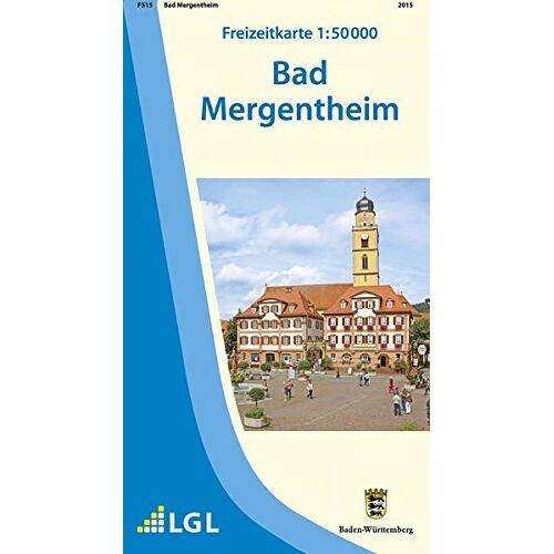 LGL - Bad Mergentheim: Freizeitkarte 1:50 000 (Freizeitkarten 1:50000) - Preis vom 23.02.2021 06:05:19 h