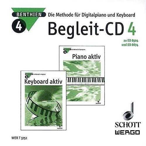 Axel Benthien - Piano aktiv / Keyboard aktiv: Die Methode für Digitalpiano und Keyboard. Begleit-CD 4. CD. - Preis vom 20.10.2020 04:55:35 h