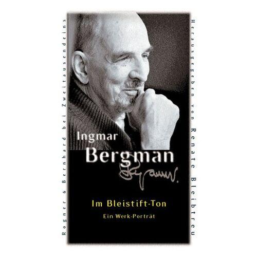 Ingmar Bergman - Im Bleistift-Ton. Ein Werk-Porträt in einem Band - Preis vom 20.10.2020 04:55:35 h