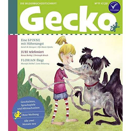 Mustafa Haikal - Gecko Kinderzeitschrift Band 77: Die Bilderbuchzeitschrift - Preis vom 10.05.2021 04:48:42 h
