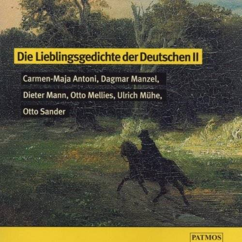Katharina Thalbach - Die Lieblingsgedichte der Deutschen 2. CD - Preis vom 01.12.2019 05:56:03 h