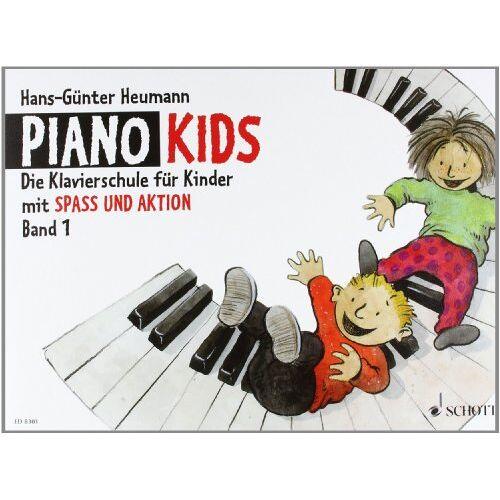 Hans-Günter Heumann - Piano Kids, Bd.1: Die Klavierschule für Kinder mit Spaß und Aktion. Band 1. Klavier - Preis vom 24.02.2021 06:00:20 h