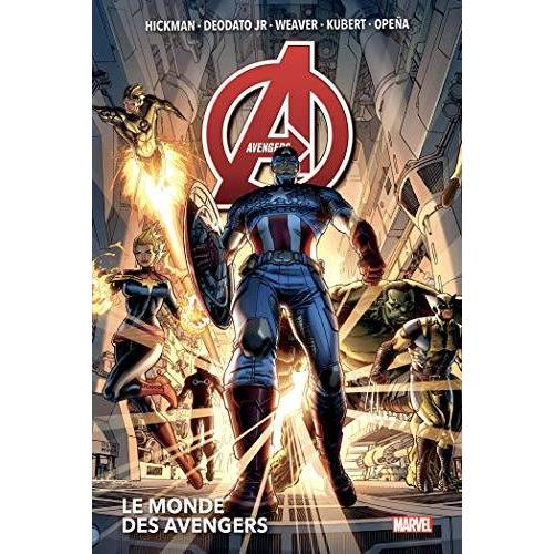 Collectif - Avengers T01: Le monde des Avengers (PAN.MARV.DELUXE) - Preis vom 26.03.2020 05:53:05 h