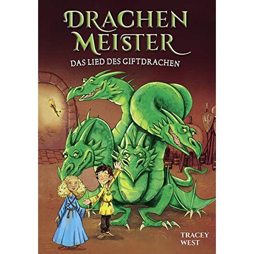 Tracey West - Drachenmeister Band 5 - Das Lied des Giftdrachen: Kinderbücher ab 6-8 Jahre - Preis vom 05.09.2020 04:49:05 h