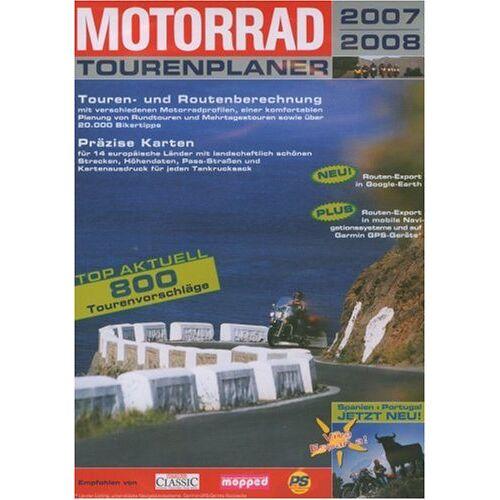 Buhl Data Service - Motorrad Tourenplaner 2007/2008 (DVD-ROM) (DVD-Box) - Preis vom 05.09.2020 04:49:05 h