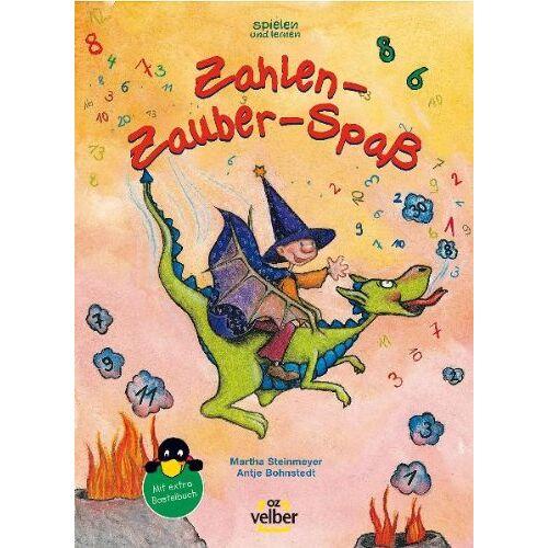 Antje Bohnstedt - Zahlen-Zauber-Spaß: Für Vorschul- und Grundschulkinder - Preis vom 26.02.2021 06:01:53 h