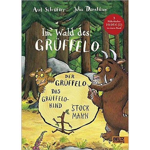 Axel Scheffler - Im Wald des Grüffelo: Der Grüffelo, Das Grüffelokind, Stockmann - Preis vom 16.04.2021 04:54:32 h