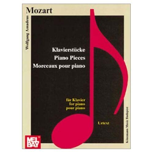 Mozart, Wolfgang Amadeus - Wolfgang Amadeus Mozart - Klavierstücke / Piano Pieces / Morceaux pour piano (Urtext) - Preis vom 26.02.2021 06:01:53 h