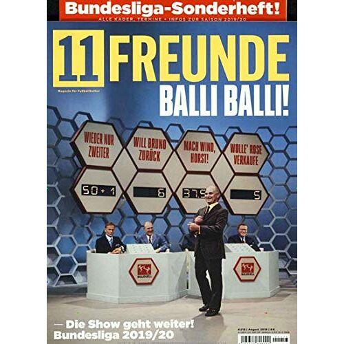 11 Freunde - 11 Freunde 213/2019 Balli Balli! - Preis vom 28.02.2021 06:03:40 h