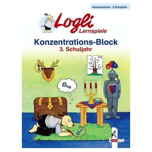 Loewe - Logli Lernspiele (Konzentrations Block 3. Schuljahr) - Preis vom 05.05.2021 04:54:13 h