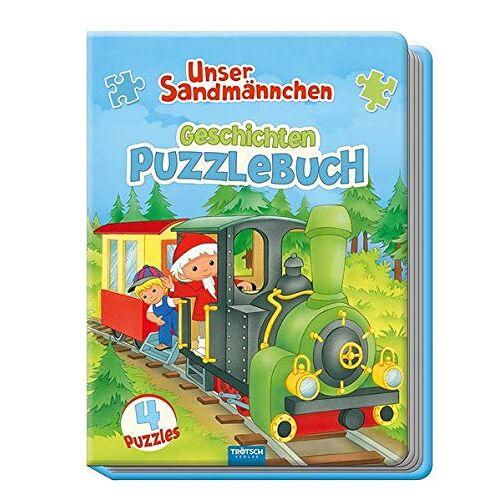 Trötsch Verlag GmbH & Co. KG - Unser Sandmännchen Geschichten-Puzzlebuch: mit 4 Puzzle - Preis vom 18.10.2020 04:52:00 h