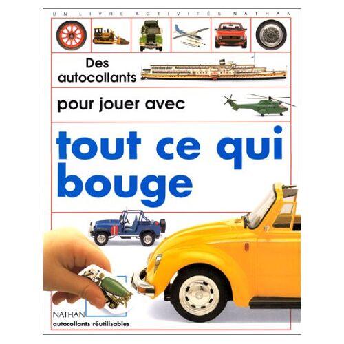 Collectif - DES AUTOCOLLANTS POUR JOUER AVEC TOUT CE QUI BOUGE (Act Autocollant) - Preis vom 23.10.2020 04:53:05 h