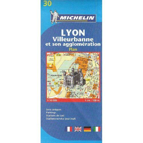 Michelin - Lyon, Villeurbanne et son agglomération : 1/10 000 - Preis vom 18.04.2021 04:52:10 h