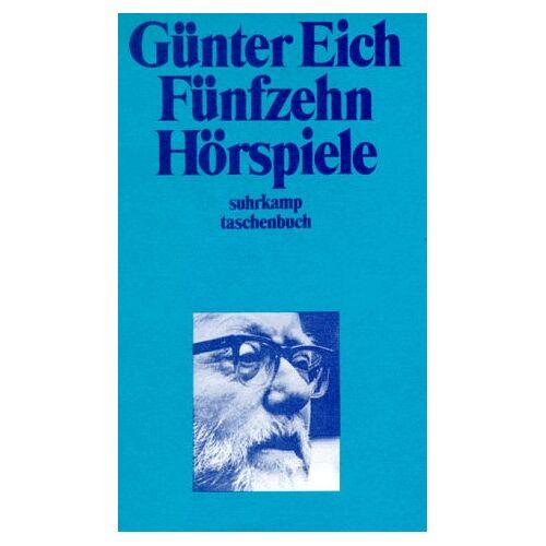 Günter Eich - Fünfzehn Hörspiele. - Preis vom 14.04.2021 04:53:30 h
