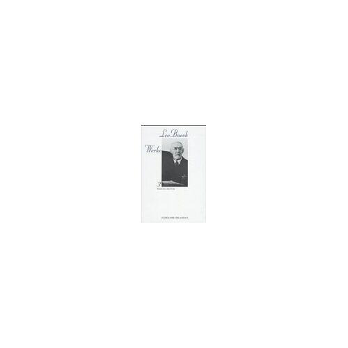 Leo Baeck - Leo Baeck Werke, 6 Bde., Bd.3, Wege im Judentum - Preis vom 14.01.2021 05:56:14 h