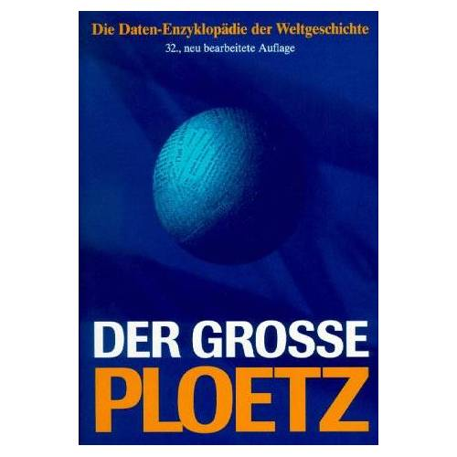 Carl Ploetz - Ploetz. Der große Ploetz - Preis vom 08.04.2020 04:59:40 h