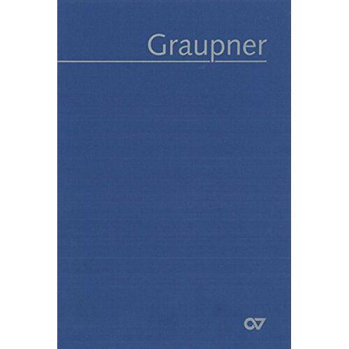 Oswald Bill - Thematisches Verzeichnis der musikalischen Werke: Graupner-Werke-Verzeichnis. Geistliche Vokalwerke - Preis vom 31.03.2020 04:56:10 h