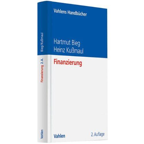 Hartmut Bieg - Finanzierung - Preis vom 19.10.2020 04:51:53 h