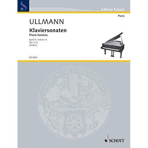 Konrad Richter - Klaviersonaten: Nr. 5-7. Band 2. Klavier. (Edition Schott) - Preis vom 19.01.2021 06:03:31 h