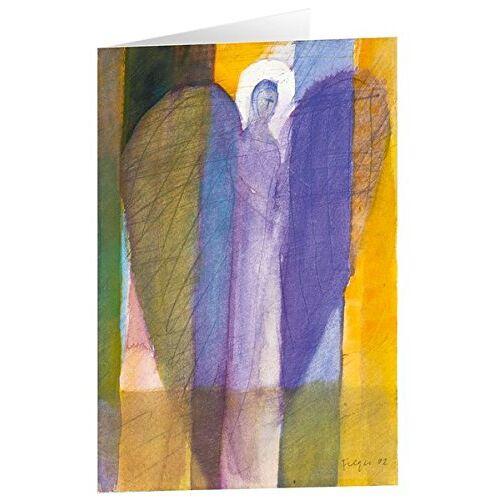 - Kunstkarten Engel in Lila - 5 Stk - Preis vom 06.05.2021 04:54:26 h