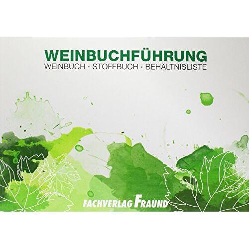 - Weinbuchfühung: Weinbuch-Stoffbuch-Behältnisliste - Preis vom 11.05.2021 04:49:30 h