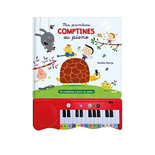 - MES PREMIÈRES COMPTINES AU PIANO: 15 COMPTINES A JOUER AU PIANO (LIVRES PIANO) - Preis vom 21.10.2020 04:49:09 h