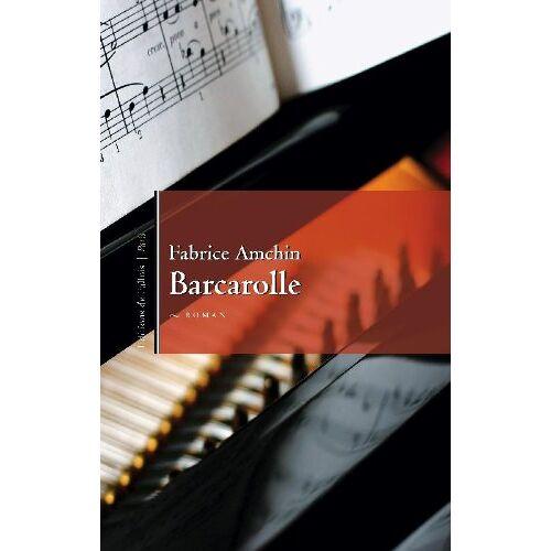 Fabrice Amchin - Barcarolle - Preis vom 11.05.2021 04:49:30 h