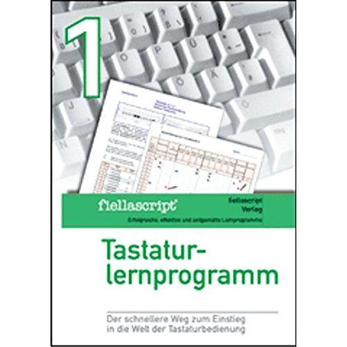 Karl Fiella - fiellascript Tastaturlernprogramm Band 1 grün: Bedienung der Tastatur - DIN 2137 - Preis vom 18.10.2020 04:52:00 h