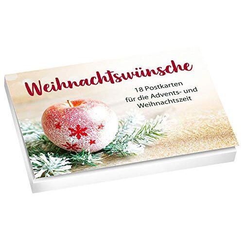 - Weihnachtswünsche - Postkartenset: 18 Postkarten für die Advents- und Weihnachtszeit. - Preis vom 16.05.2021 04:43:40 h