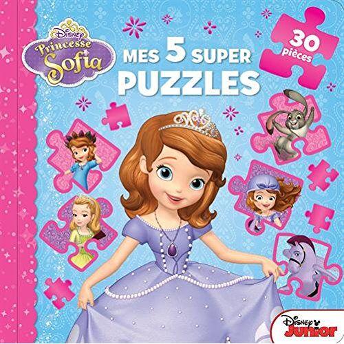 Disney - Princesse Sofia, mes 5 super puzzles - Preis vom 20.10.2020 04:55:35 h