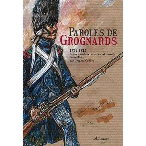 Jérôme Croyet - Paroles de Grognards - Preis vom 18.04.2021 04:52:10 h
