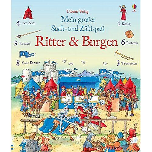 Hazel Maskell - Mein großer Such- und Zählspaß: Ritter und Burgen - Preis vom 13.05.2021 04:51:36 h