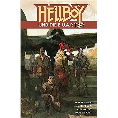 Mike Mignola - Hellboy14: Hellboy und die B.U.A.P. - 1952 - Preis vom 20.10.2020 04:55:35 h