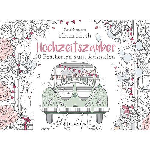 Maren Kruth - Hochzeitszauber - Postkartenbuch - Preis vom 20.10.2020 04:55:35 h
