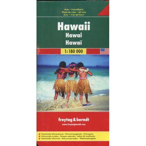 Freytag-Berndt und Artaria KG - Freytag Berndt Autokarten, Hawaii 1:180.000 - Preis vom 16.04.2021 04:54:32 h