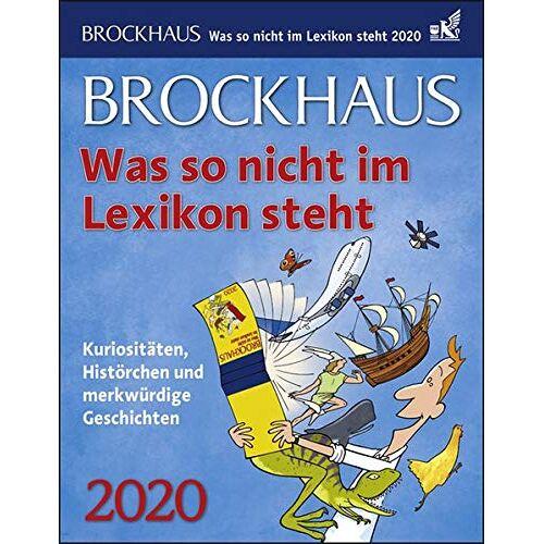 Tom Breitenfeldt - Brockhaus Was so nicht im Lexikon steht 2020 12,5x16cm - Preis vom 03.05.2021 04:57:00 h