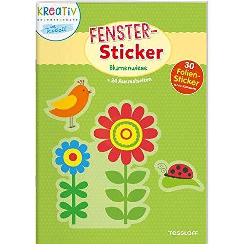 Tessloff Verlag - Fenster-Sticker. Blumenwiese: Mit 30 Folien-Stickern! (Malbücher und -blöcke) - Preis vom 23.02.2021 06:05:19 h