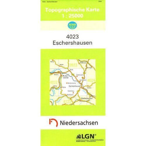 - Eschershausen 1 : 25 000. (TK 4023/N) - Preis vom 20.10.2020 04:55:35 h