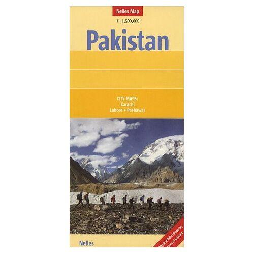 Günter Nelles - Nelles Map Pakistan (Landkarte) 1 : 1 500 000. City Map: Karachi, Lahore, Peshawar - Preis vom 06.05.2021 04:54:26 h