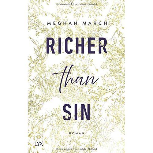 Meghan March - Richer than Sin (Richer-than-Sin-Reihe, Band 1) - Preis vom 14.01.2021 05:56:14 h