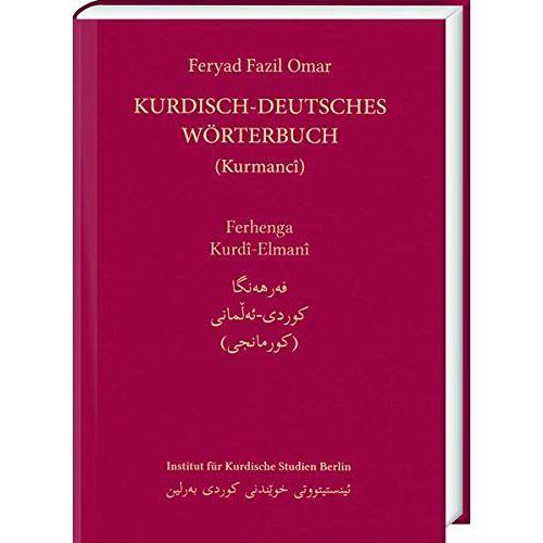Omar, Feryad Fazil - Kurdisch-Deutsches Wörterbuch (Nordkurdisch/Kurmancî) - Preis vom 13.05.2021 04:51:36 h