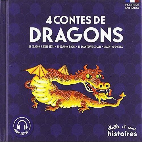 Collectif - 4 contes de Dragons : Le dragon à huit têtes ; Le dragon rouge ; Le manteau de pluie ; Grain de poivre - Preis vom 25.02.2021 06:08:03 h