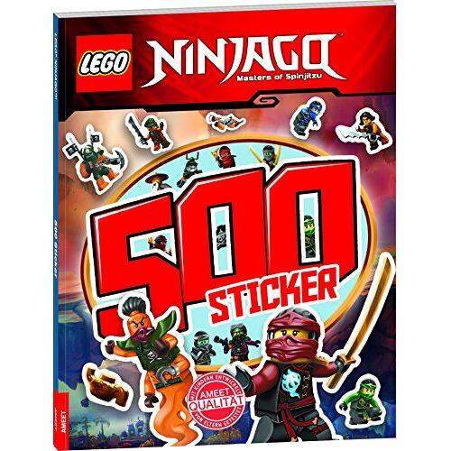 - LEGO® NINJAGOTM 500 Sticker Band 2: Rätsel-Stickerbuch - Preis vom 20.10.2020 04:55:35 h