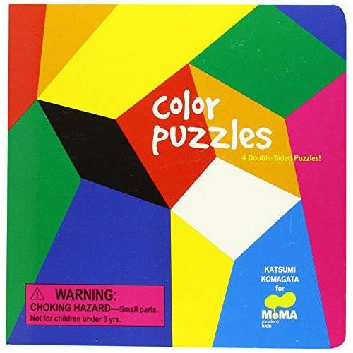 Katsumi Komagata - Moma Color Puzzles: 4 Double-Sided Puzzles - Preis vom 25.02.2021 06:08:03 h