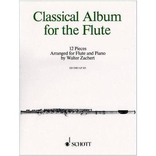 Walter Zachert - Klassisches Floetenalbum. Flöte, Klavier - Preis vom 16.04.2021 04:54:32 h