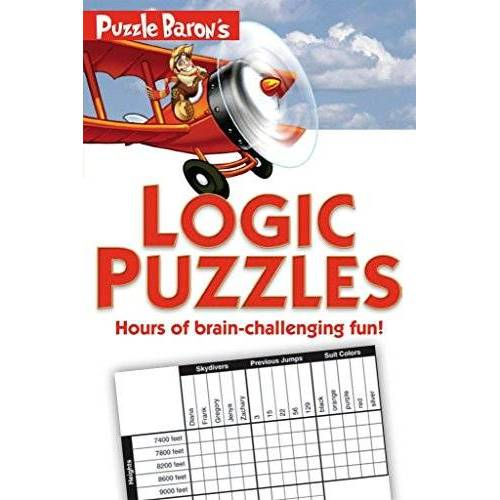 Puzzle Baron - Puzzle Baron's Logic Puzzles: Hours of Brain-Challenging Fun! - Preis vom 09.08.2020 04:47:12 h