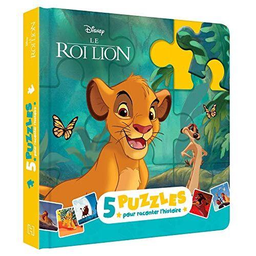- LE ROI LION - Mon petit livre puzzle - 5 puzzles 9 pièces - Disney (Mon petit livre puzzle 9 pièces) - Preis vom 19.01.2021 06:03:31 h